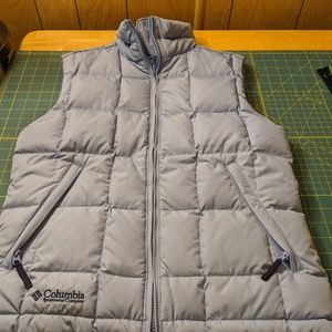 COLUMBIA down feather vest